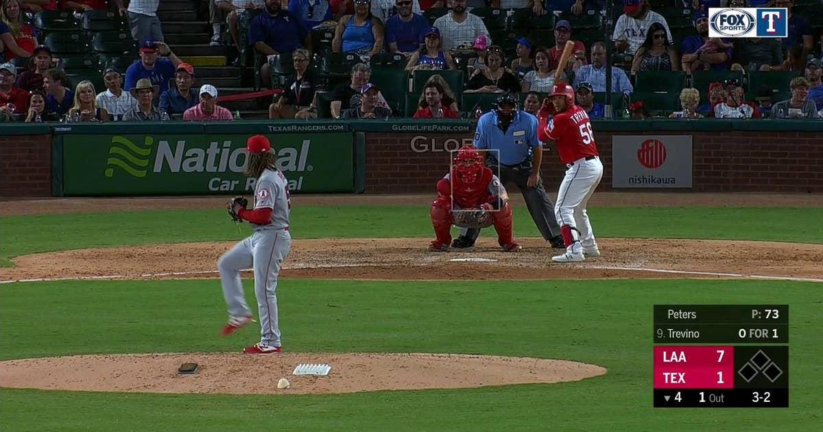 HIGHLIGHTS: Jose Trevino hits 1st Career Home Run