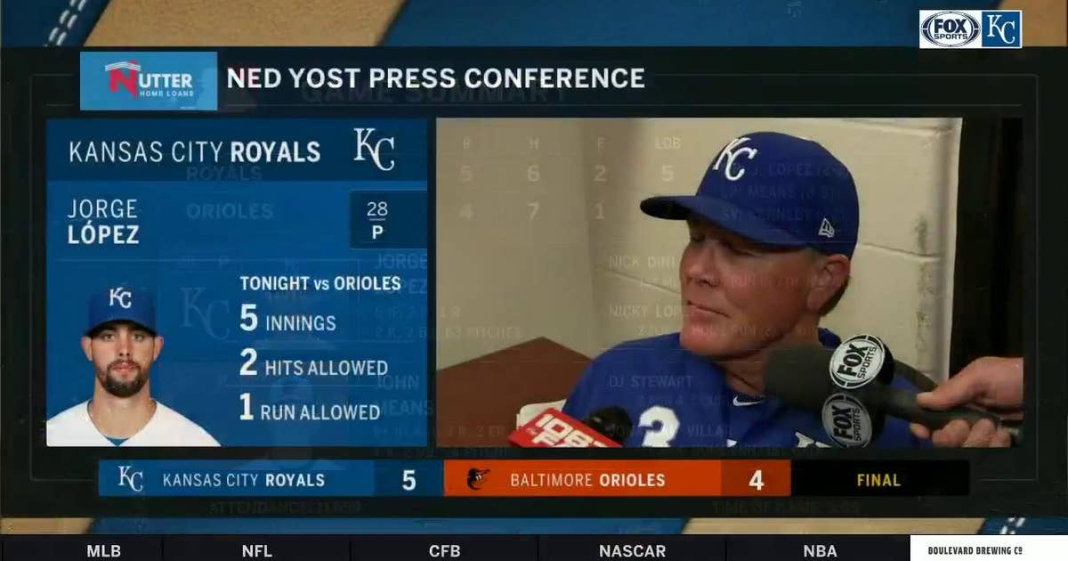 Yost on Dini's first career home run