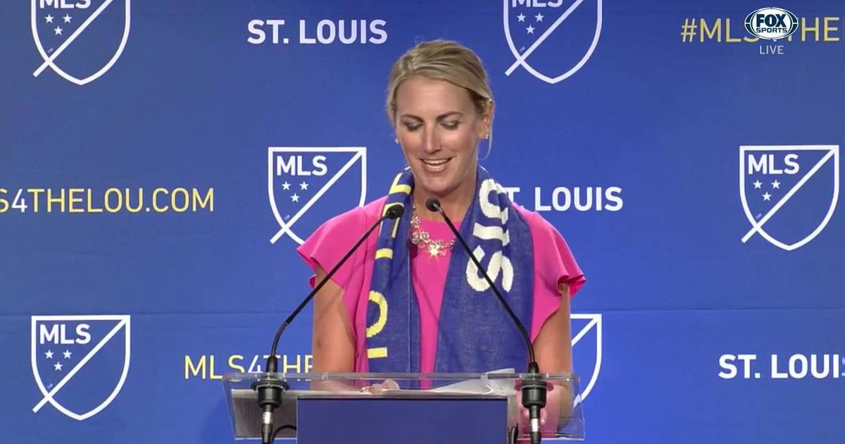 Carolyn Kindle Betz: 'This is truly a special day for St. Louis'