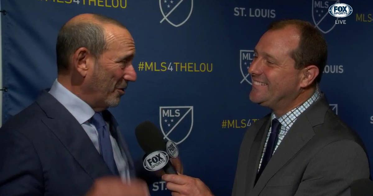 MLS commissioner: 'It was a long time coming'
