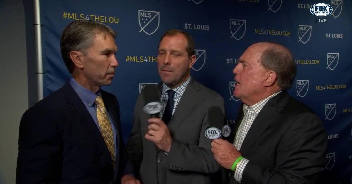 Jim Kavanaugh on MLS-St. Louis announcement: 'It's almost surreal'