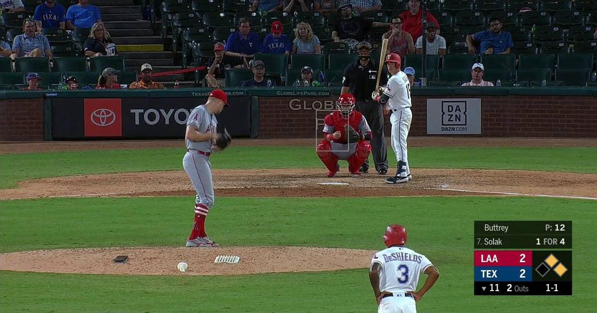 HIGHLIGHTS: Rangers, Solak walk it off vs. Angels in 11th inning