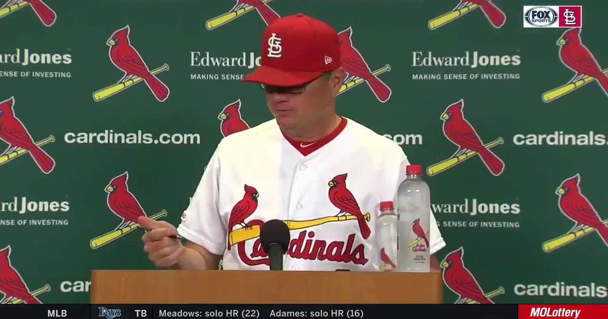 Shildt after the Cardinals beat the Rockies