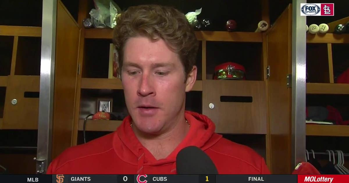 Mikolas after Cardinals' victory: 'We're a big family in here'