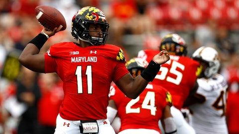 <p>               FILE - In this Sept. 22, 2018, file photo, then-Maryland quarterback Kasim Hill throws to a receiver in the first half of an NCAA college football game against Minnesota in College Park, Md. Former Maryland quarterback Kasim Hill has transferred to Tennessee. Tennessee athletic department spokesman Zach Stipe confirmed Thursday, Aug. 22, 2019, that the Volunteers have added Hill as a walk-on.  Hill won't play this season due to NCAA transfer rules.(AP Photo/Patrick Semansky, File)             </p>
