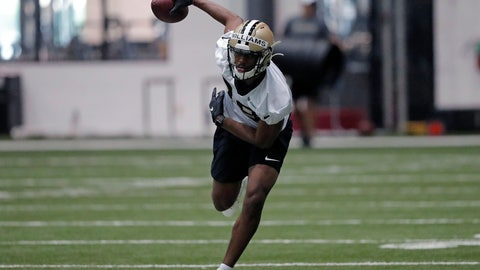 <p>               FILE - In this June 12, 2019, file photo, New Orleans Saints free safety Marcus Williams (43) runs a drill at their NFL football training facility in Metairie, La. Marcus Williams asserts that he became a better player in the past year, although his numbers didn't show it. He enters Year 3 aiming to live up to high expectations, even if he may never completely live down a missed tackle in Minnesota that brought a ruinous end to his rookie season. (AP Photo/Gerald Herbert, File)             </p>
