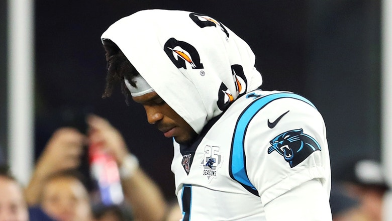 Shannon Sharpe: The Panthers protecting Cam Newton continues to be an issue & is 'very concerning'