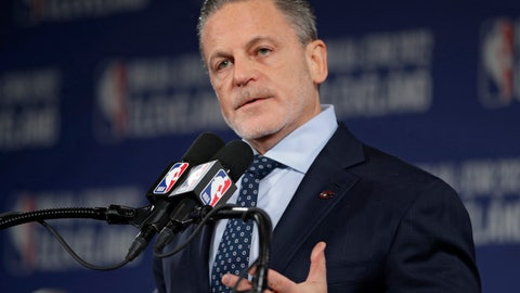<p>               FILE - In this Nov. 1, 2018, file photo, Cleveland Cavaliers owner Dan Gilbert speaks during a news conference in Cleveland about the 2022 NBA All -Star game. Gilbert has been home for nearly a week in Detroit as he continues to recover from a stroke suffered in May. He had spent the past two months in a rehabilitation center in Chicago. On Thursday, Aug. 22, 2019, Quicken Loans CEO Jay Farner provided a brief update on the 57-year-old billionaire businessman. (AP Photo/Tony Dejak, File)             </p>