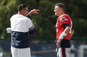 Patriots, Titans practice like trash-talking family reunion