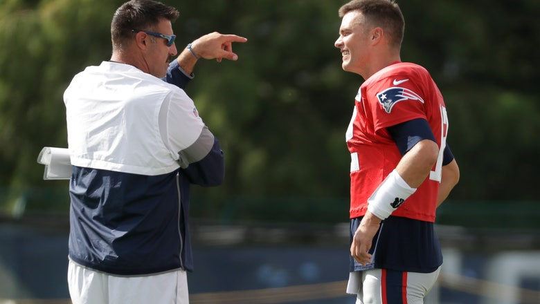 Patriots, Titans practice like trash-talking family reunion