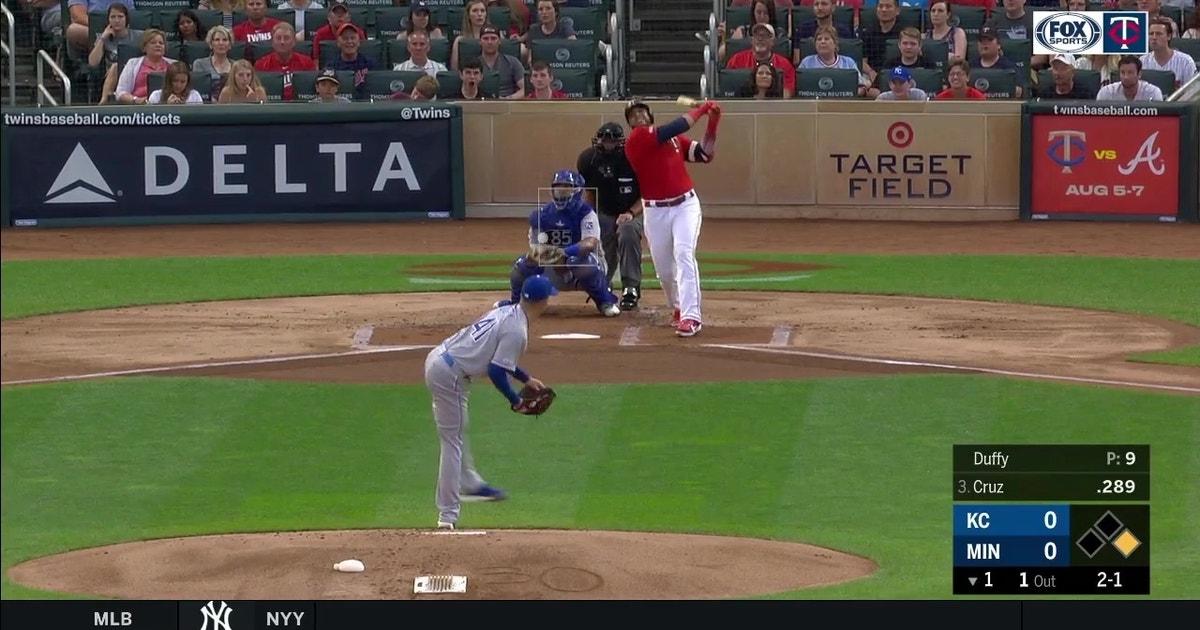 WATCH: Nelson Cruz notches second career three-homer game
