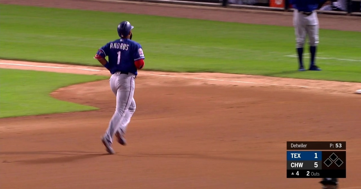 HIGHLIGHTS: Elvis Andrus gets Rangers on the Board in Chicago