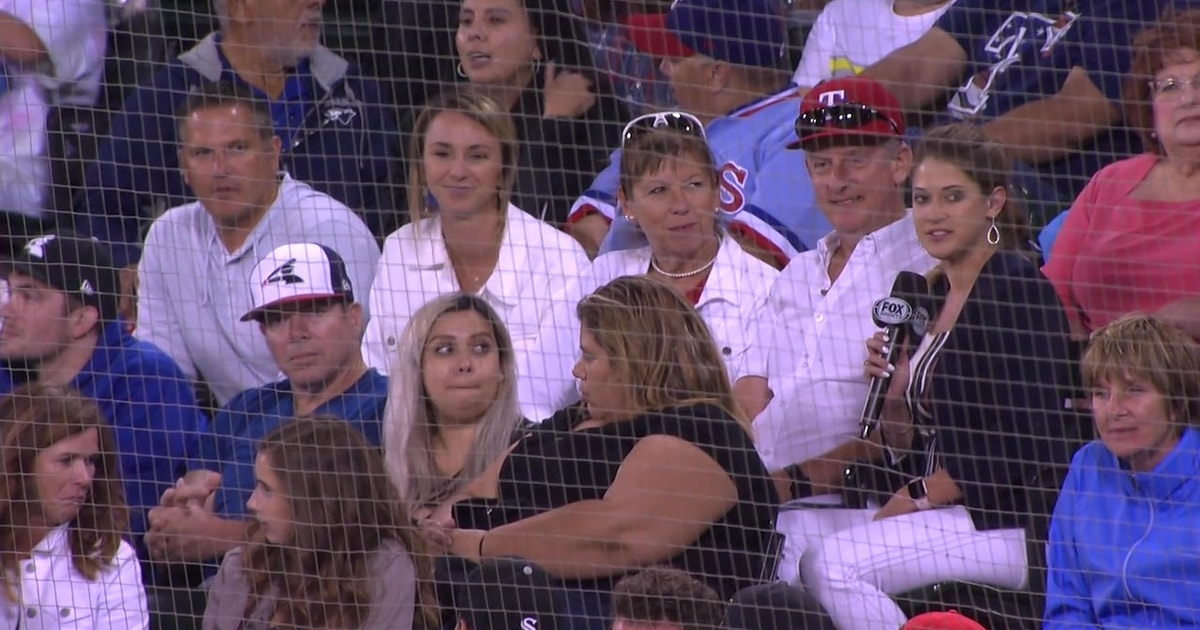 Nick Solak's Family in Attendance to Watch Rangers at White Sox