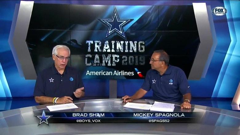 Previewing Cowboys-Texans Preseason Game | Inside Cowboys Training Camp