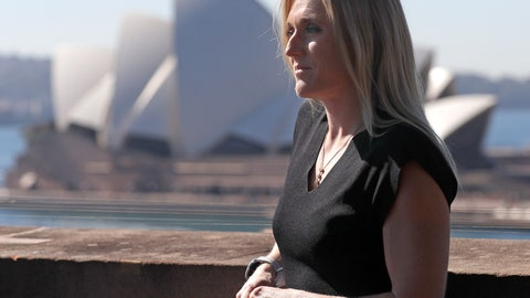 <p>               Australian athlete Sally Pearson poses for a photo after announcing her retirement in Sydney, Australia, Tuesday, Aug. 6, 2019. Pearson, who won the 100-meter hurdles gold medal at London in 2012 in an Olympic record time despite the rain, has retired from competitive track and field after a series of injuries. (AP Photo/Rick Rycroft)             </p>