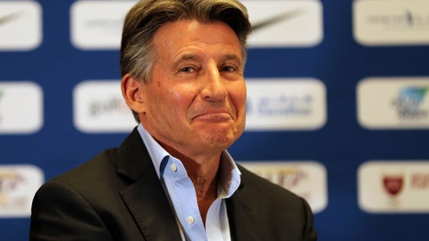 <p>               FILE - In this Thursday, May 2, 2019 file photo,  IAAF President Sebastian Coe, attends a press conference ahead of the Doha IAAF Diamond League in Doha, Qatar. IAAF President Sebastian Coe discusses the impact of Usain Bolt's absence from the upcoming world championships in a wide-ranging interview with The Associated Press, and expresses his hope that emerging young athletes will make their own mark at the Sept. 27-Oct. 6, 2019 event. (AP Photo/Kamran Jebreili, File)             </p>
