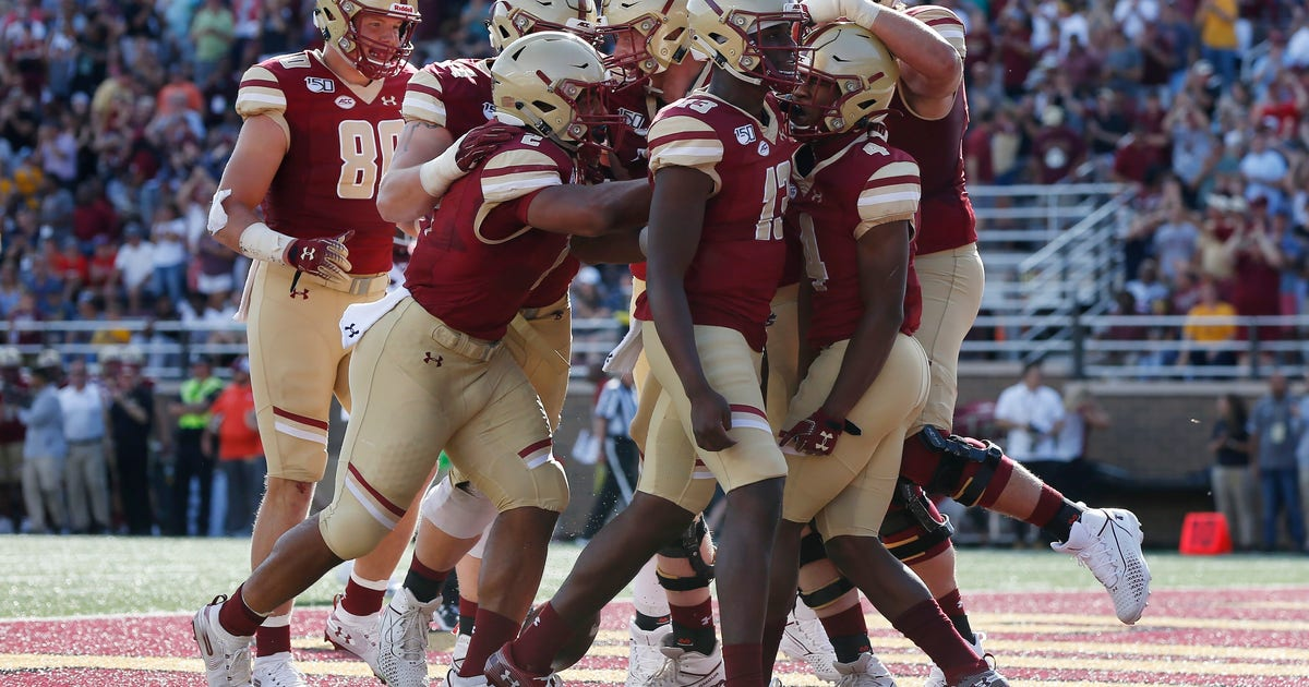 Brown's 2 TD passes and 1 run leads BC past Va. Tech 35-28 | FOX Sports