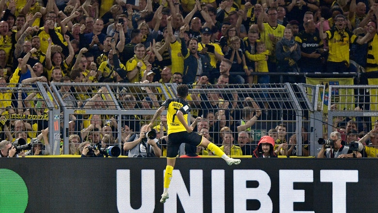 Sancho leads Dortmund to German Supercup win over Bayern