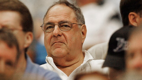 <p>               FILE - In this Oct. 2, 2005, file photo, Tampa Bay Devil Rays managing general partner Vince Naimoli watches his team lose to the Baltimore Orioles, 6-2, in the last game of the season in St. Petersburg, Fla. Original Tampa Bay Rays owner Vince Naimoli has died at 81. The team said Monday, Aug. 26, 2019, he died Sunday nearly five years after being diagnosed with an uncommon brain disorder. (AP Photo/Robert Azmitia, File)             </p>