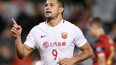 <p>               FILE - In this May 10, 2017, file photo, then Shanghai SIPG's Elkeson celebrates after scoring against Western Sydney Wanderers during their Asian Football Confederation Champions League soccer match in Sydney. Brazilian-born striker Elkeson is set to be in the thick of action for Guangzhou Evergrande as the Asian Champions League enters the quarterfinals stage. Elkeson is the talk of Asian soccer after becoming the first player of non-Chinese heritage to be selected for the China national team. (AP Photo/Rick Rycroft, File)             </p>