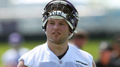 <p>               FILE - In this July 23, 2019, file photo, Minnesota Vikings defensive end Karter Schult takes part during the NFL football team's training camp in Eagan, Minn. Schult is one of the dozens of fringe players in NFL training camps this month who have been appreciating even the grind of two-a-day practices as much as anyone, given the setback their fledgling careers suffered this spring when the Alliance of American Football suddenly folded. (AP Photo/Jim Mone, File)             </p>