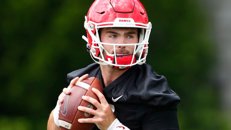 Fromm, Georgia adjusting to huge turnover at wide receiver