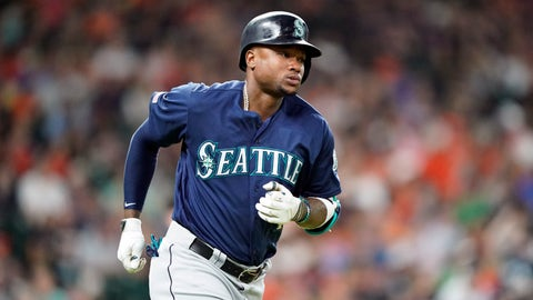 <p>               FILE - In this June 29, 2019, file photo, Seattle Mariners' Tim Beckham runs the bases after hitting a two-run home run against the Houston Astros during the second inning of a baseball game, in Houston. Seattle Mariners infielder Tim Beckham has been suspended 80 games as part of baseball's joint drug agreement after testing positive for stanozolol, a banned performance-enhancer, Major League Baseball announced Tuesday, Aug. 6, 2019. Beckham's suspension is effective immediately and ends his season. (AP Photo/David J. Phillip, File)             </p>