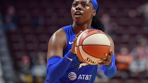 <p>               FILE - In this May 14, 2019, file photo, Dallas Wings' Arike Ogunbowale eyes the basket during the first half of the team's preseason WNBA basketball game against the Connecticut Sun in Uncasville, Conn. Ogunbowale hasn't let losing shake her confidence. The fifth pick in the draft by the Dallas Wings has already lost more games in her rookie season then she did in her college career at Notre Dame. (AP Photo/Jessica Hill, File)             </p>