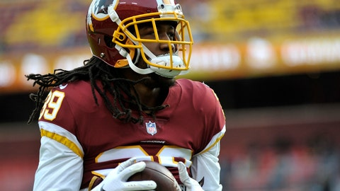 <p>               File-This Dec. 30, 2018, file photo shows, Washington Redskins defensive back Adonis Alexander warming up prior to an NFL football game in Landover, Md.  Alexander is expected to miss at least two weeks with a right quadriceps injury. Coach Jay Gruden confirmed the injury timeline Sunday, Aug. 4, 2019. Alexander has missed several practices in a row. (AP Photo/Mark Tenally, File)             </p>