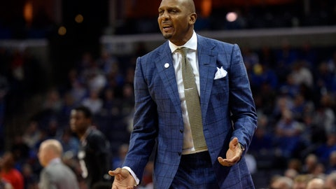 <p>               FILE - In this Feb. 7, 2019, file photo, Memphis head coach Penny Hardaway watches during an NCAA college basketball game against Cincinnati in Memphis, Tenn. Former NBA stars Hardaway and Jerry Stackhouse have taken on new challenges with both trying to revive a pair of struggling college basketball programs about 200 miles apart in Tennessee. (AP Photo/Brandon Dill, File)             </p>