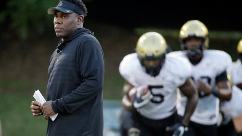 <p>               FILE - In this Aug. 5, 2019, file photo, Vanderbilt head coach Derek Mason supervises an NCAA college football practice in Nashville, Tenn. Mason isn't sharing who Vanderbilt's new starting quarterback will be before the season opener. The coach needs every advantage he can get with the Commodores hosting No. 3 Georgia for their season opener. (AP Photo/Mark Humphrey, File)             </p>