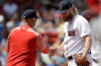 1 year after record-setting season, Red Sox limp to October