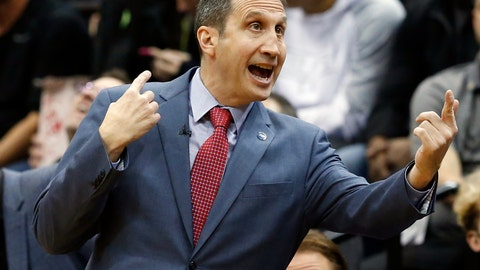 <p>               FILE - In this file photo dated Friday, Jan. 8, 2016, Cleveland Cavaliers head coach David Blatt directs his team during NBA basketball game against the Minnesota Timberwolves, in Minneapolis.  Former Cleveland Cavaliers coach David Blatt said in a statement Monday Aug. 19, 2019, he has been diagnosed with multiple sclerosis. (AP Photo/Jim Mone, FILE)             </p>