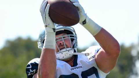 <p>               FILE - In this July 29, 2019, file photo, Dallas Cowboys tight end Jason Witten catches the ball from a passing machine at the NFL football team's training camp in Oxnard, Calif. The Cowboys and Los Angeles Rams meet Saturday, Aug. 17, 2019, in Honolulu, a place that used to be a regular NFL stop for the Pro Bowl. The first exhibition game in Hawaii since 1976 also figures to be Witten's return after a year in retirement as a broadcaster. (AP Photo/Michael Owen Baker, File)             </p>