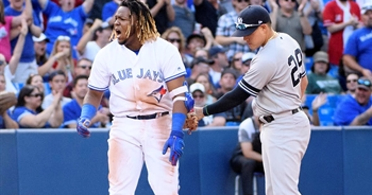 Vladimir Guerrero Jr's 2-run triple helps Blue Jays stun Yankees