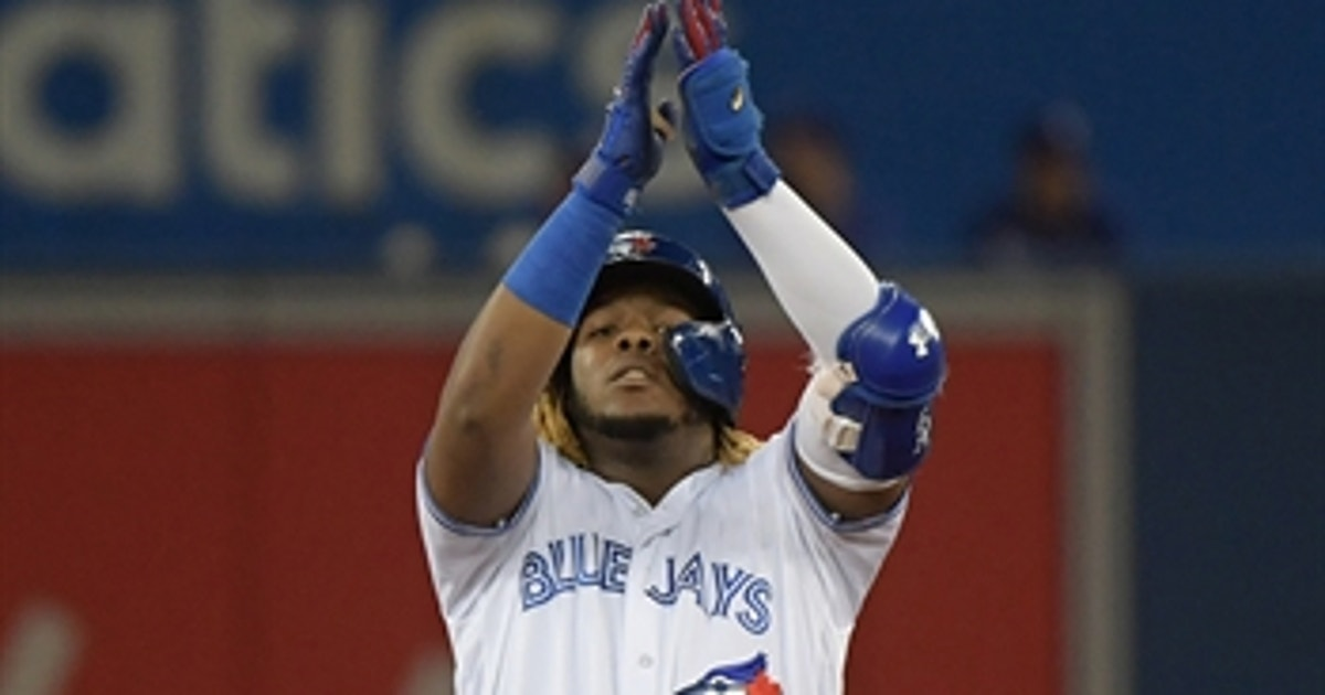 Vladimir Guerrero Jr sparks 8-run rally for Toronto in rout of Texas