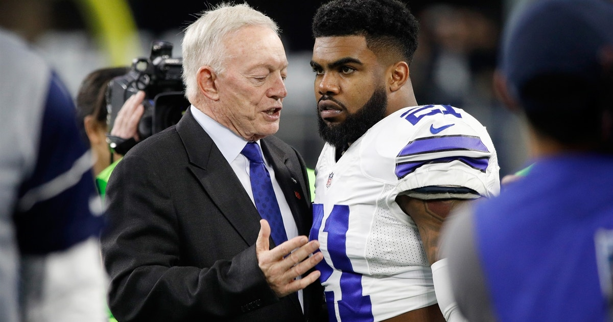 Skip Bayless on Ezekiel Elliott negotiations: 'Jerry is going to figure this out'