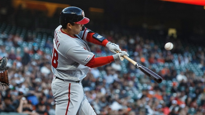 Nationals get bats going early in win over Giants