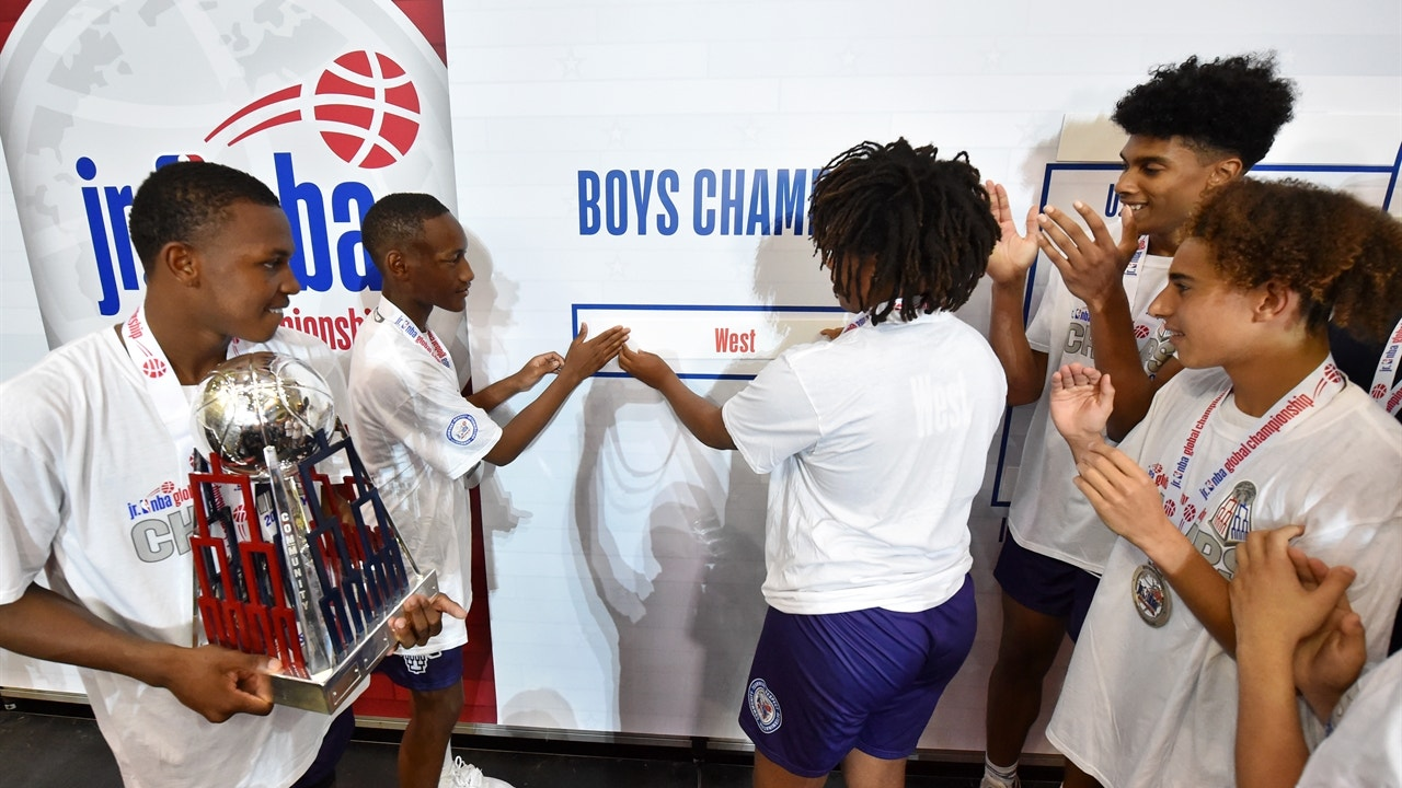 West defeats Africa for the 2019 Jr  Boys Global Championship