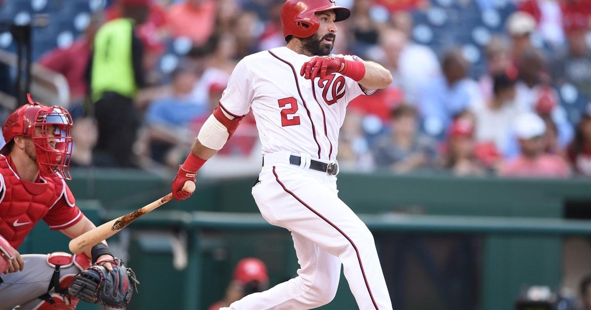 Adam Eaton three-run homer draws Nationals even with Brewers | MLB on FOX