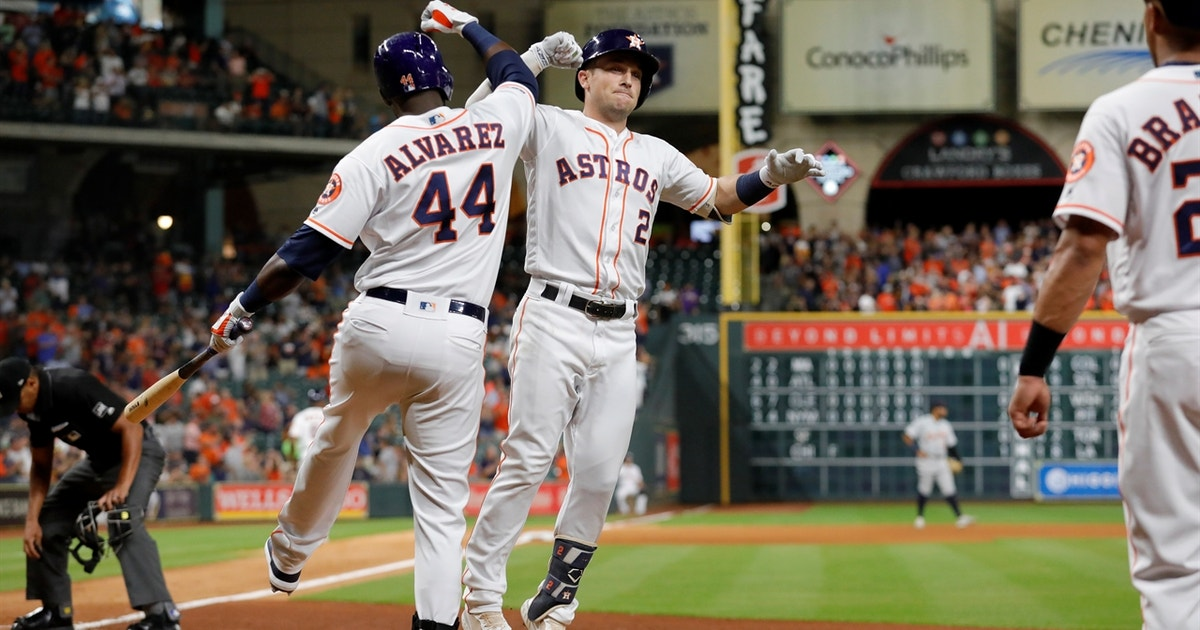 Bregman clubs 31st homer of the year in 6-3 Astros win