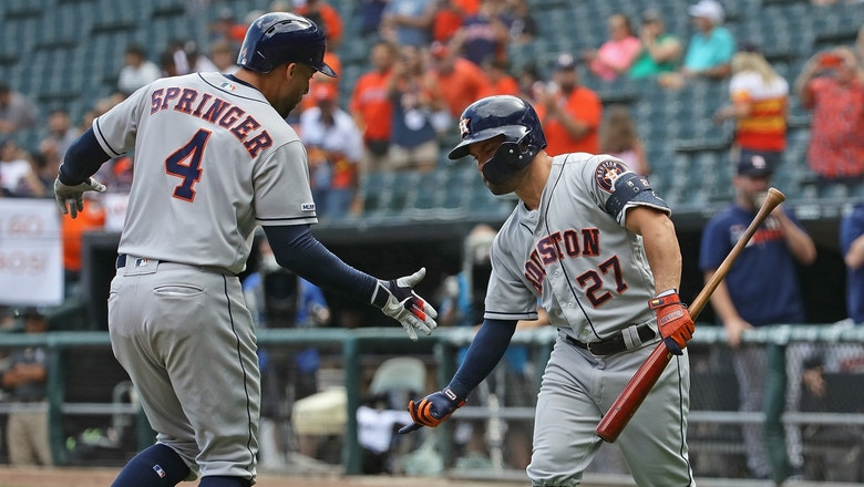 Springer, Altuve open Astros win with back-to-back blasts