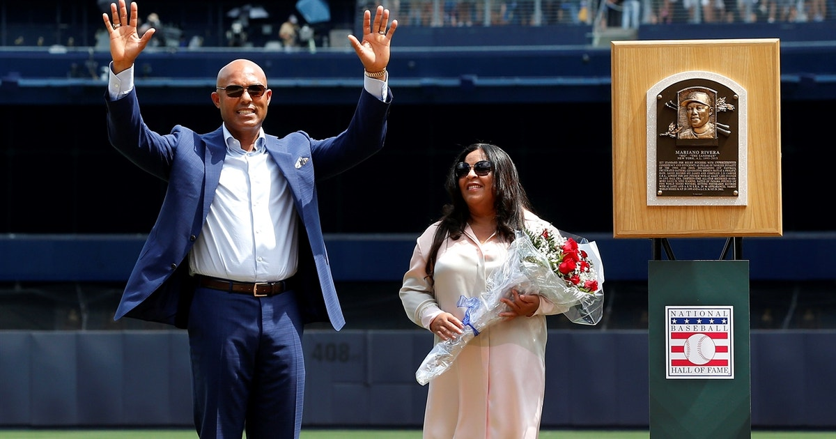 Mariano Rivera gives speech at jersey retirement: 'You Yankee fans are something special'
