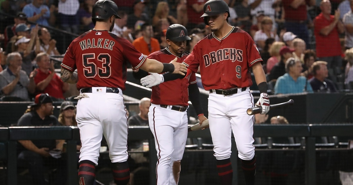 Flores, Peralta homers key D'Backs to win over Giants