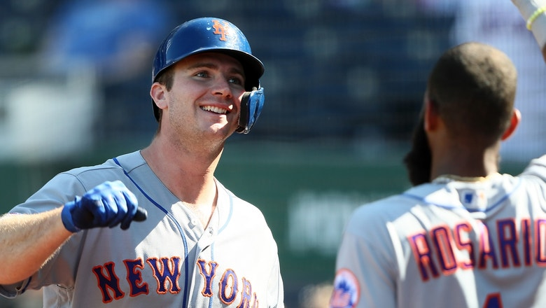 Pete Alonso sets NL rookie home run record with 40th blast of 2019
