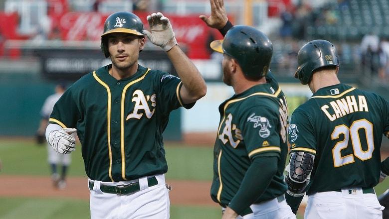 Matt Olson blasts 26th homer as Athletics blow past Yankees