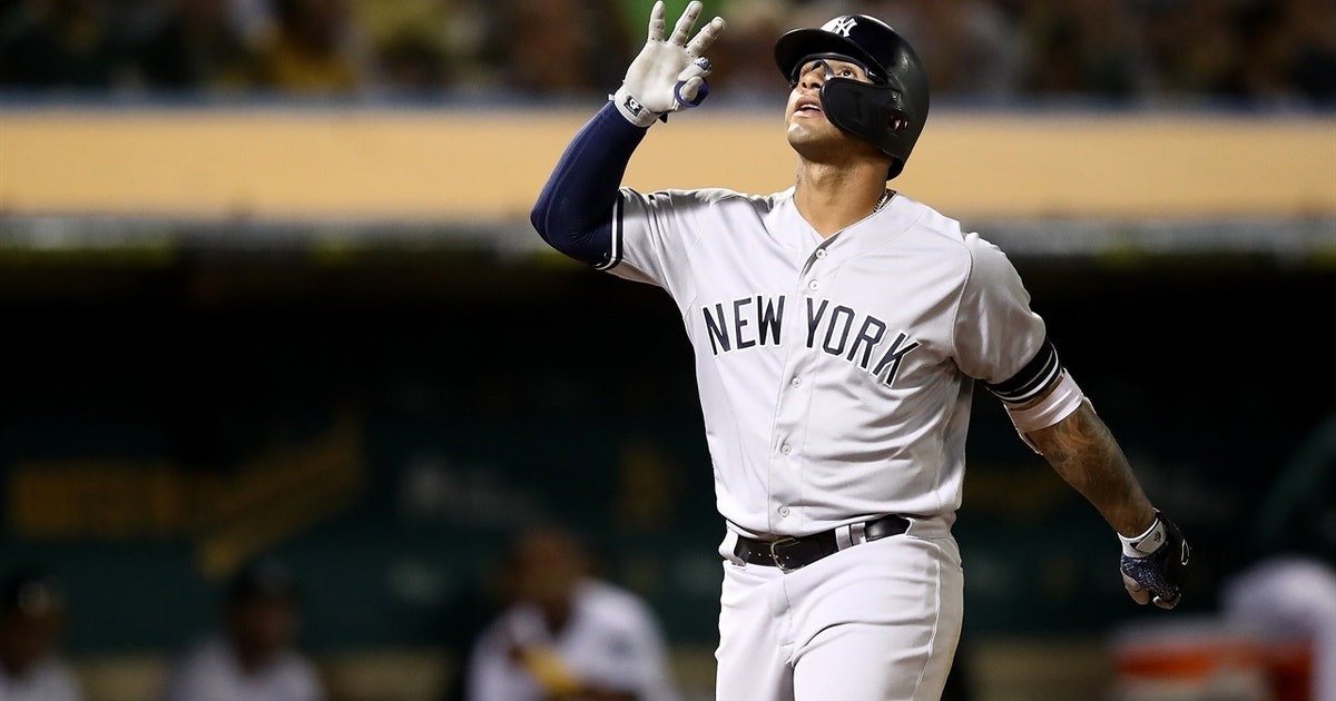 Gleyber Torres joins Joe DiMaggio as only 22-and-under Yankees with 30+ homers in season
