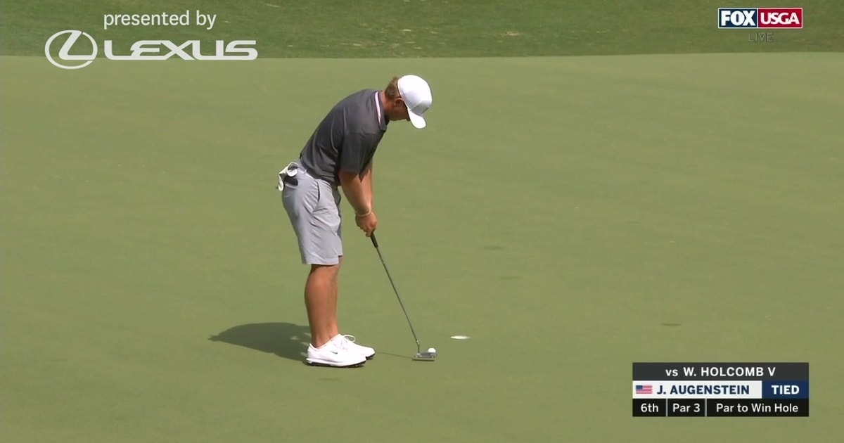 2019 U.S. Amateur: Highlights from semifinal of John Augenstein and William Holcomb V (VIDEO)