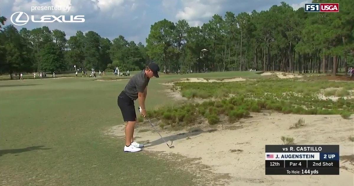 John Augenstein Surges into U.S. Amateur Quarterfinals (VIDEO)