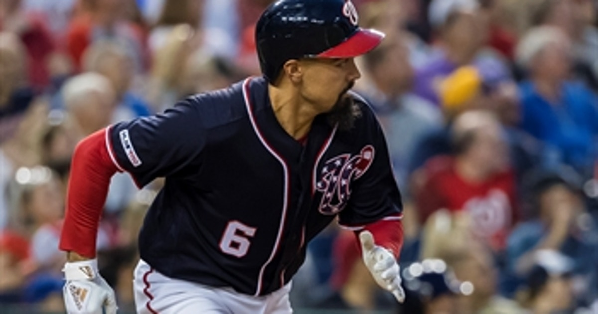 Rendon drives in both runs for Washington in 2-1 win over Milwaukee